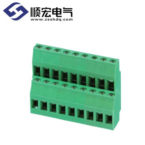 LP130A-5.00/5.08螺钉式PCB端子