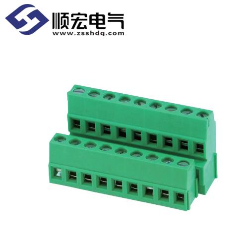LP500B-5.00/5.08螺钉式PCB端子