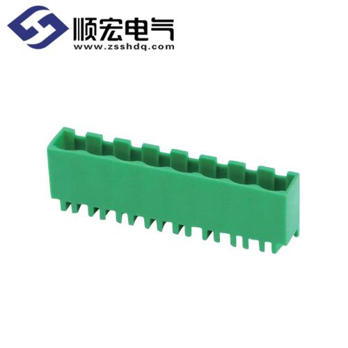 2ELPVC-5.08/5.00/7.62/7.50插拔式PCB端子
