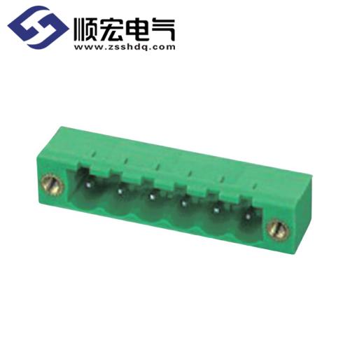 2ELPRM-5.08/5.00/7.62/7.50插拔式PCB端子