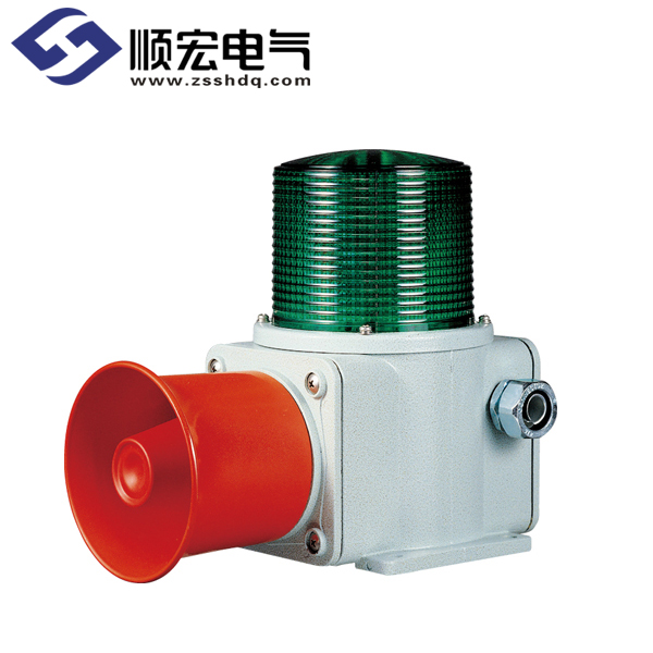 SHDL 船舶/ 重负荷用LED 长亮/闪亮灯 & 信号音喇叭 Max.118dB