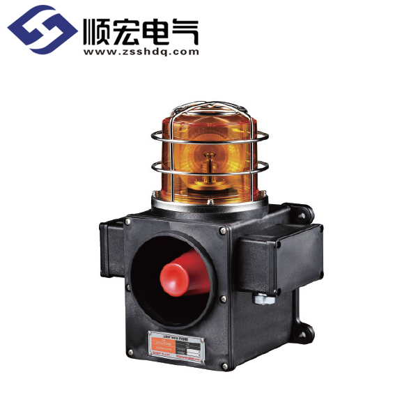 SCDWLR 船舶/ 重负荷用 LED 反射镜旋转灯 & 信号音喇叭 Max.118dB