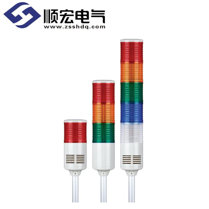 ST80B Φ80mm 铝管固定型 灯泡长亮/闪亮型多层信号灯 Max.90dB
