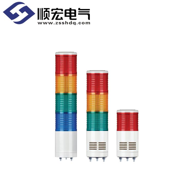 ST80ML Φ45mm 直附型 LED 长亮/闪亮型多层信号灯 Max.90dB