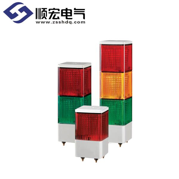 SJL 方形LED长亮/闪亮多层式警示灯 Max.90dB