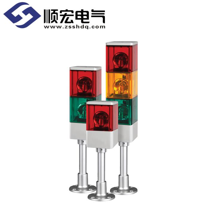SJP 方形灯泡反射镜旋转型多层式警示灯 Max.90dB