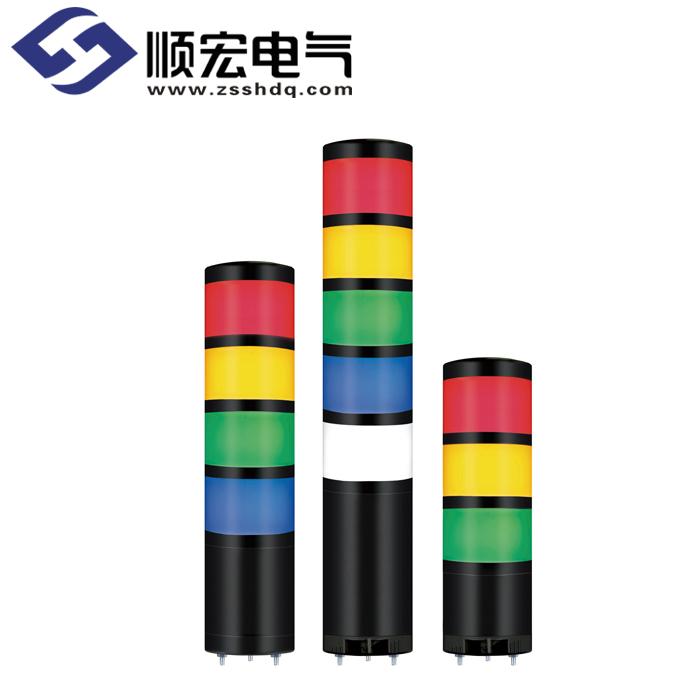 QTR70ML/QTRA70ML Φ70mm 直附型 LED 模块型长亮/闪亮多层信号灯 Max.90dB