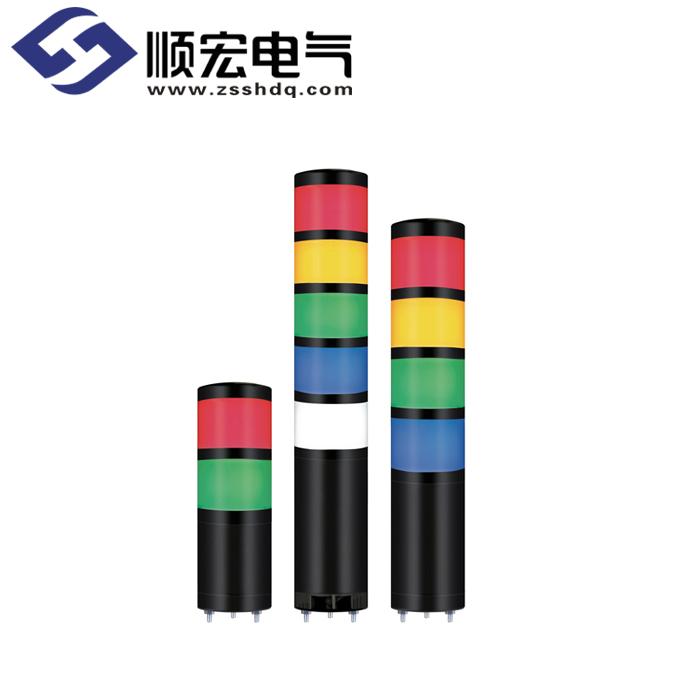 QTR50ML/QTRA50ML Φ50mm 直附型 LED 模块型长亮/闪亮多层信号灯 Max.85dB