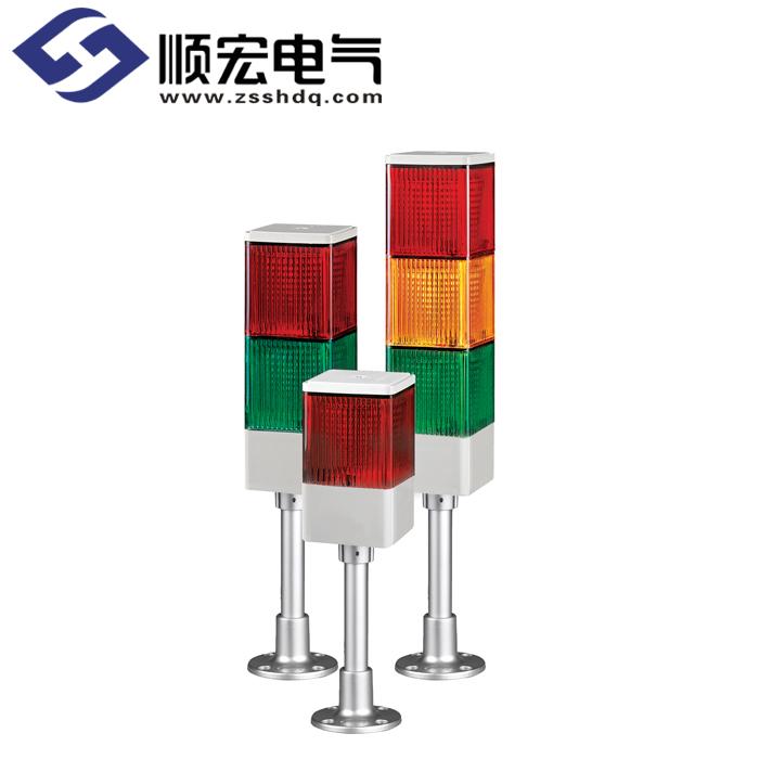SJLP 方形 LED长亮/闪亮多层式警示灯 Max.90dB