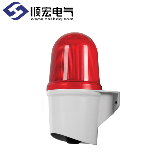 QAD125BZ 壁挂型 LED 长亮/闪亮型 & 高音量蜂鸣器 Max.105dB