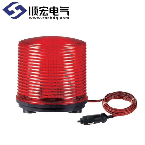 S125SM Φ125mm 磁铁吸附型氙灯管爆闪型指示灯