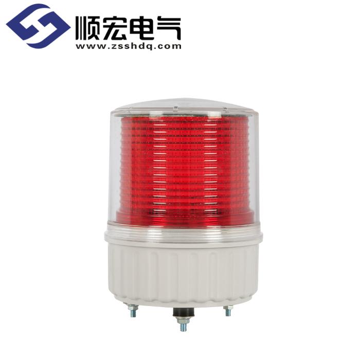 S125SOL Φ125mm 太阳能充电式LED闪亮指示灯