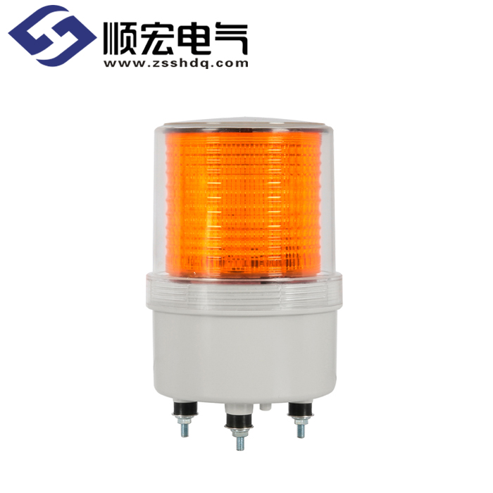 S100SOL Φ100mm 太阳能充电式LED闪亮指示灯