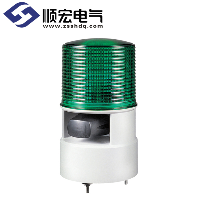 S125DL Φ125mm LED 长亮/闪亮灯 & 电笛 Max.105dB