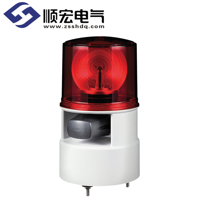 S125DLR Φ125mm LED 反射镜旋转灯 & 电笛 Max.105dB