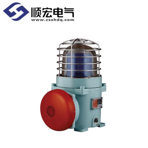 SEBAS 电铃外装耐压防爆 氙灯管爆闪型 警示灯 Max.95dB