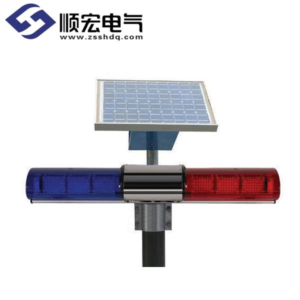 ELR-SOL 太阳能电池板LED长方形警示灯