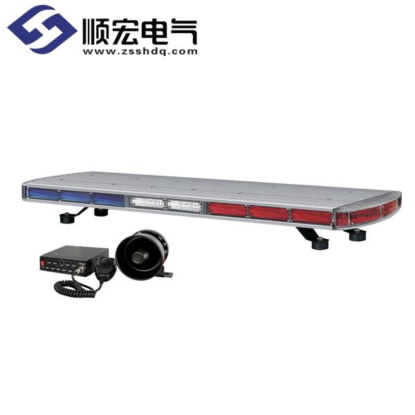 QLV-SET 应急车用LED 爆闪型长排警示灯 SET Max.135dB