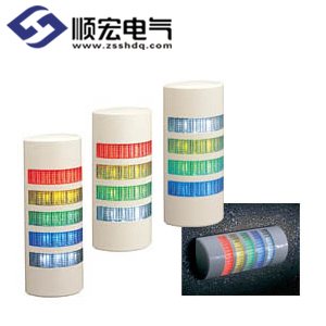 WEP 系列半圆超薄壁挂式信号灯