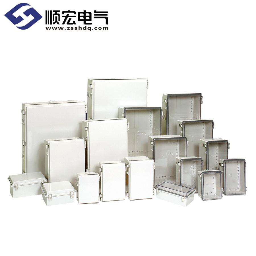 P系列 (SUS 锁扣) 塑料盒铰链型