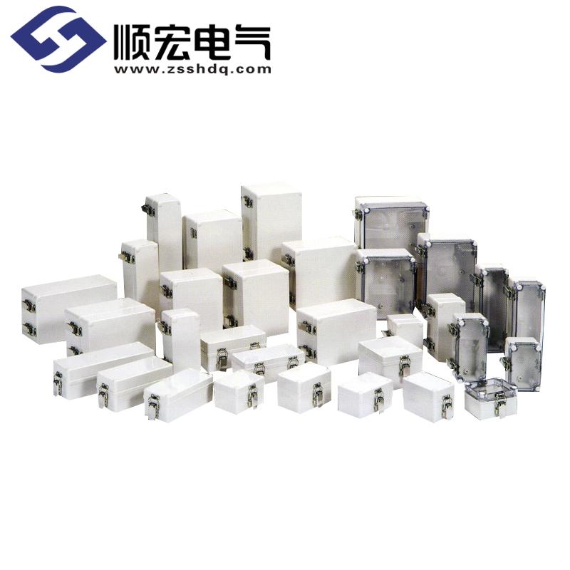 H系列 小型 (SUS锁扣铰链) 塑料盒铰链型