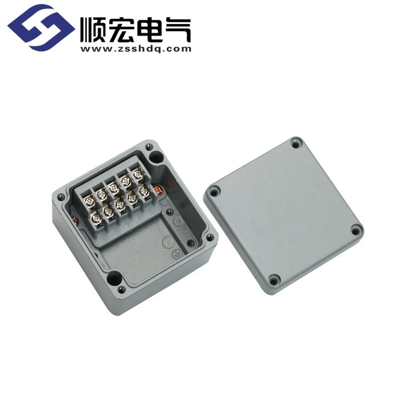 BC-AL-5PT 铸铝盒(铸铝接线端子盒)80x75x57