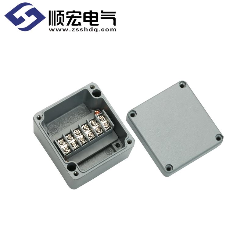 BC-AL-6P 铸铝盒(铸铝接线端子盒) 80x75x57