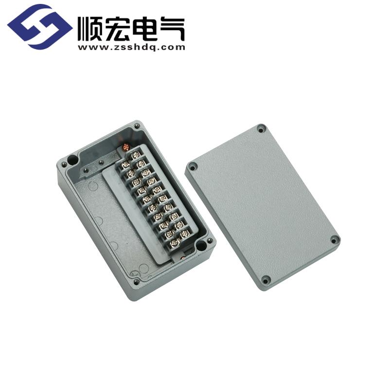 BC-AL-10PT 铸铝盒(铸铝接线端子盒) 80x125x57