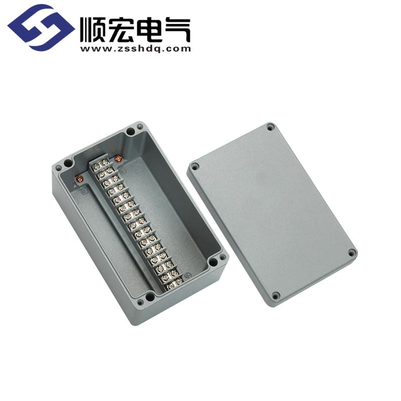 BC-AL-15P 铸铝盒(铸铝接线端子盒) 100x160x80