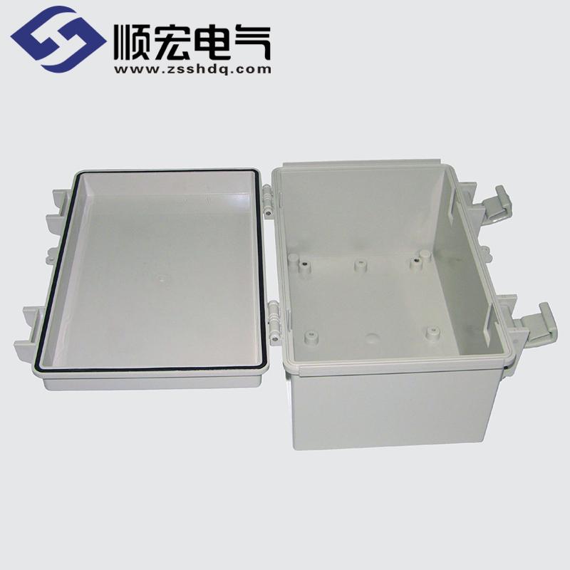SM-OOO-015 塑料盒 塑料铰链门扣 200X300X150