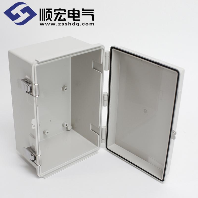 UN-OOO-2030-13 塑料盒 金属门扣塑灶铰链