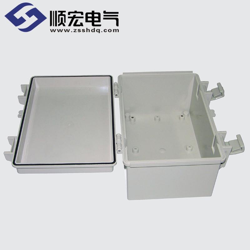 SM-OOO-01 塑料盒 塑料铰链门扣 200X300X180
