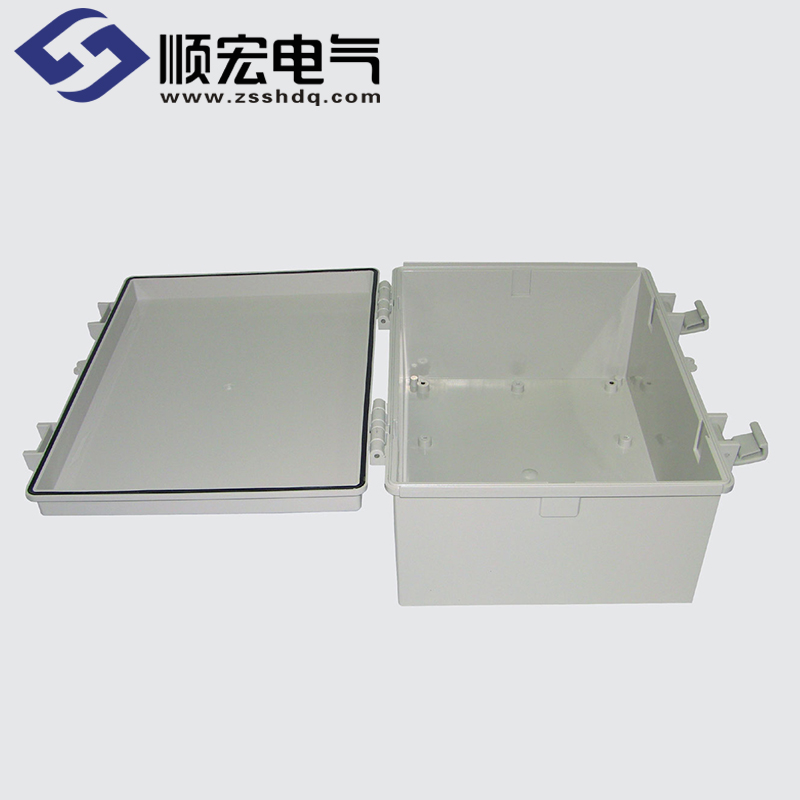 SM-OOO-02 塑料盒 塑料铰链门扣 300X400X180