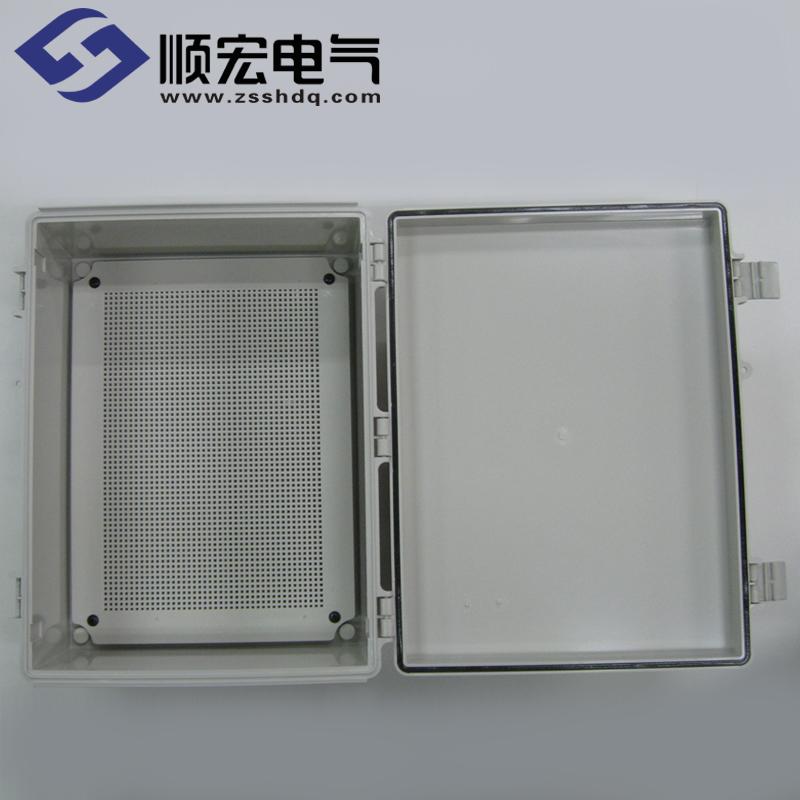 EN-OOO-3545 塑料盒 经济型塑料铰链门扣 350x450x200