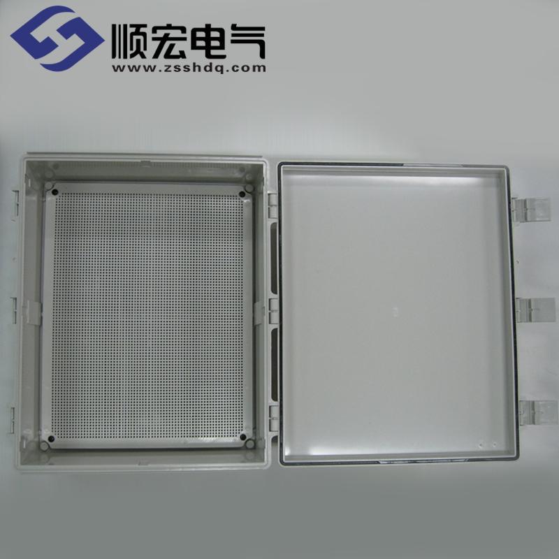 EN-OOO-4353-S 塑料盒 经济型塑料铰链门扣 430x530x160