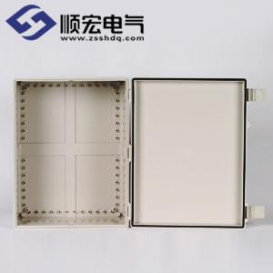 NE-OOO-3546 塑料箱 塑料铰链门扣 350X465X200