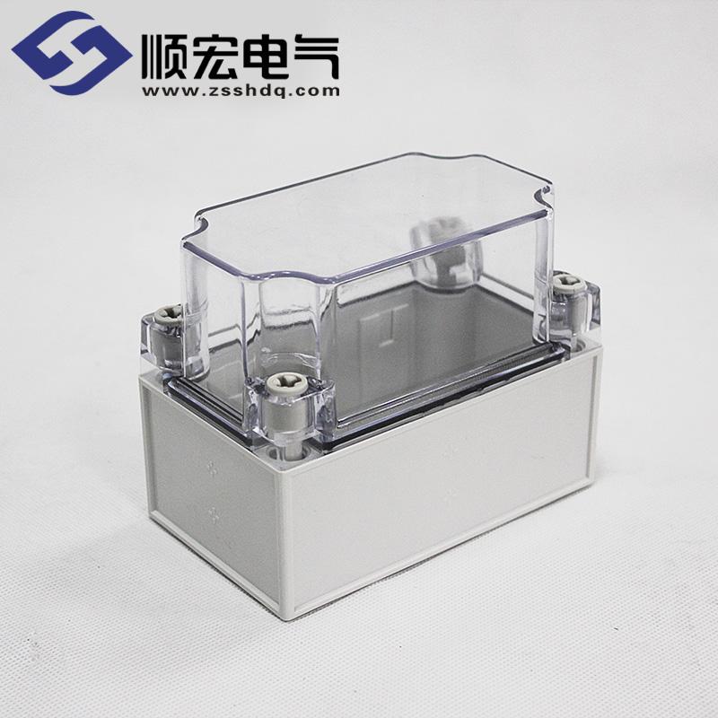 TJ-AT-0712-1 塑料防水开关接线盒 75×125×100