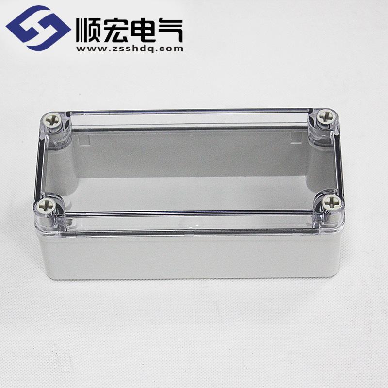 TJ-AT-0813 塑料透明盖插座开关盒 80×130×70
