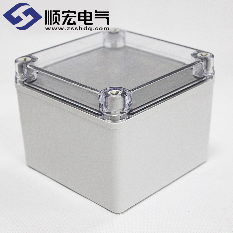 TJ-AT-1212-S 透明盖开关盒防水 125×125×100