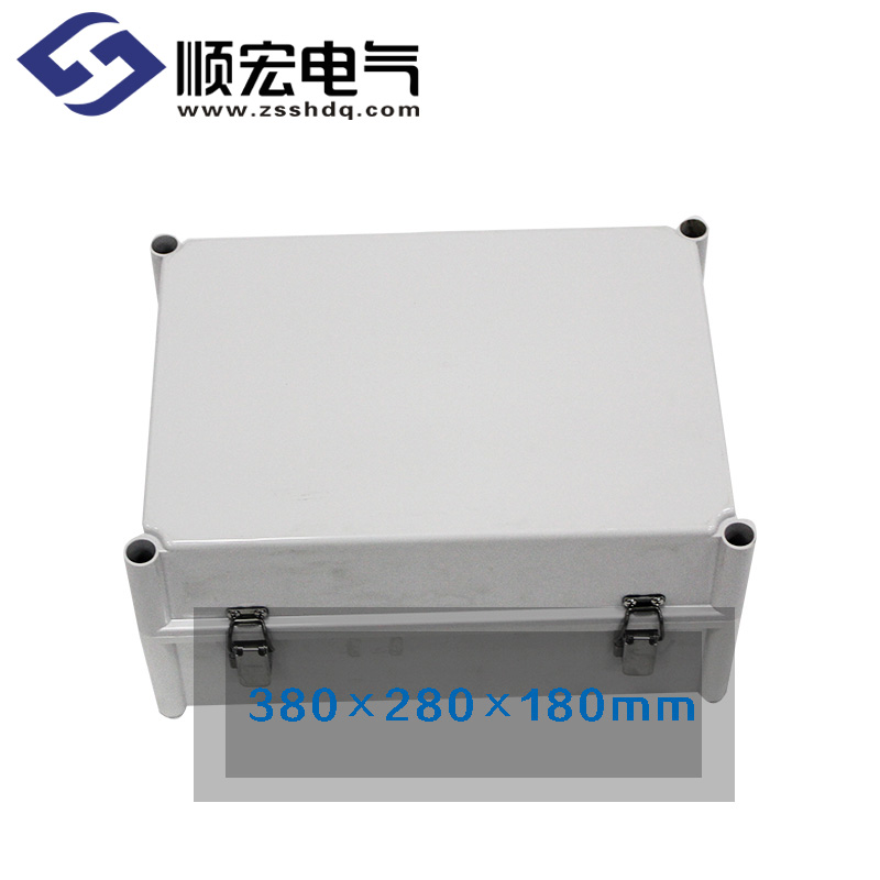 TJ-AGH-3828-2 铰链型防水接线盒 380*280*180