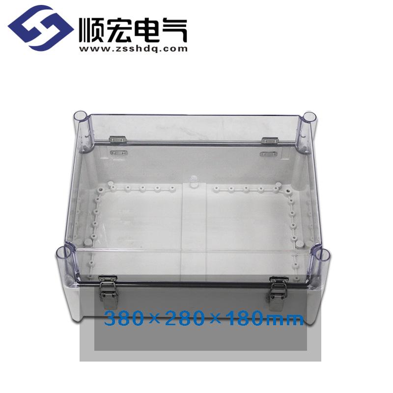 TJ-ATH-3828-2 铰链型防水接线盒 380*280*180