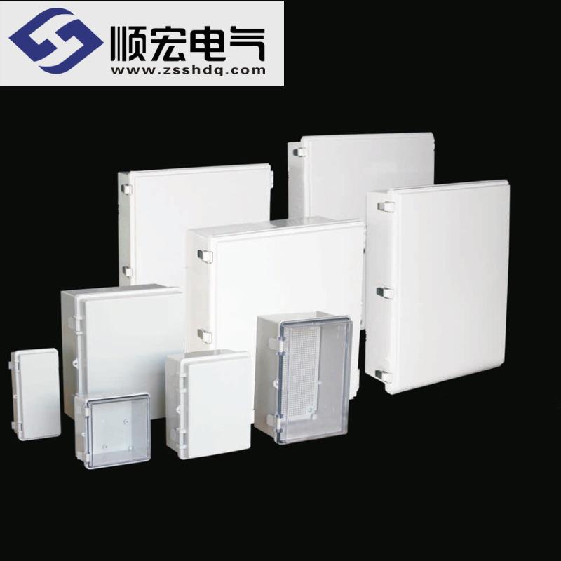 TE系列 塑料盒(塑料搭扣+铰链型)