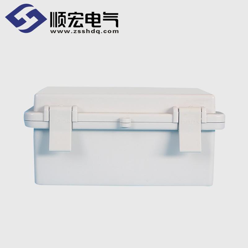 TE-AG-1015 塑料搭扣铰链型防水接线盒 100*150*70