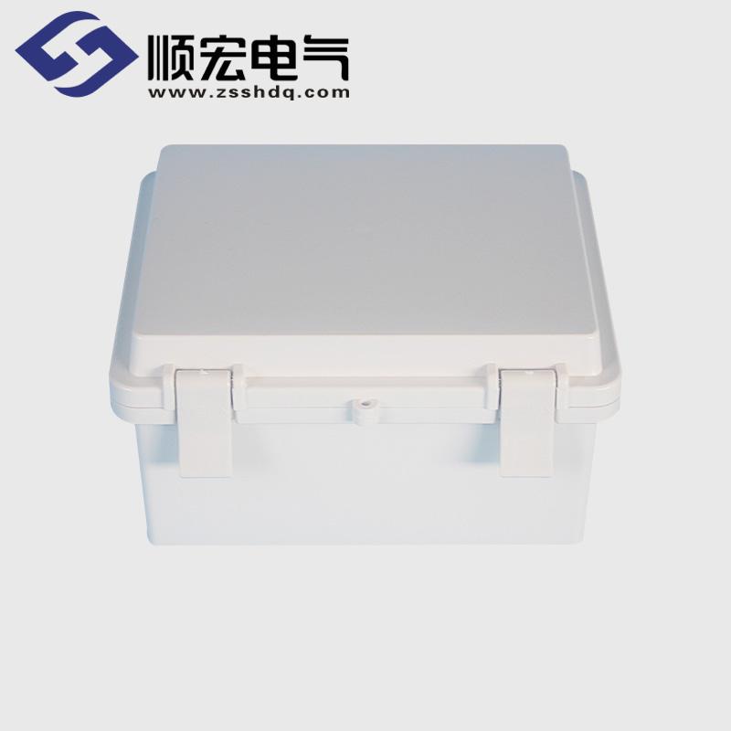TE-AG-1315 塑料搭扣铰链型防水接线盒 135*155*80