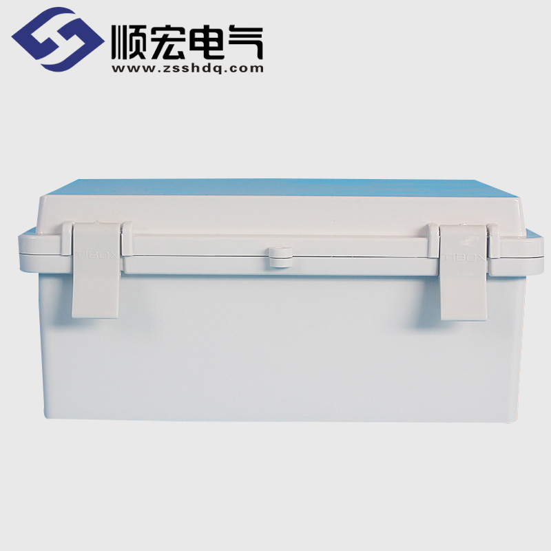 TE-AG-1318-S 塑料搭扣铰链型防水接线盒 135*185*110