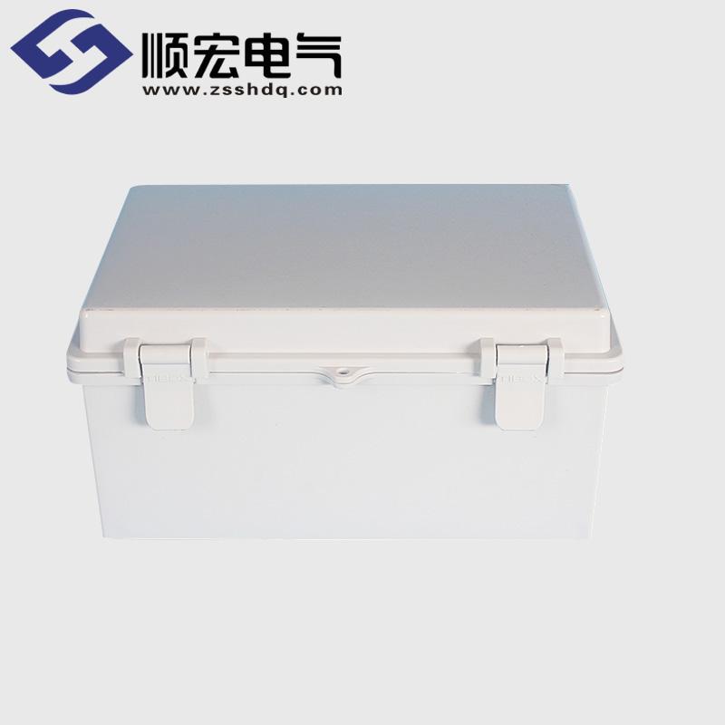 TE-AG-1929 塑料搭扣铰链型防水接线盒 190*290*140