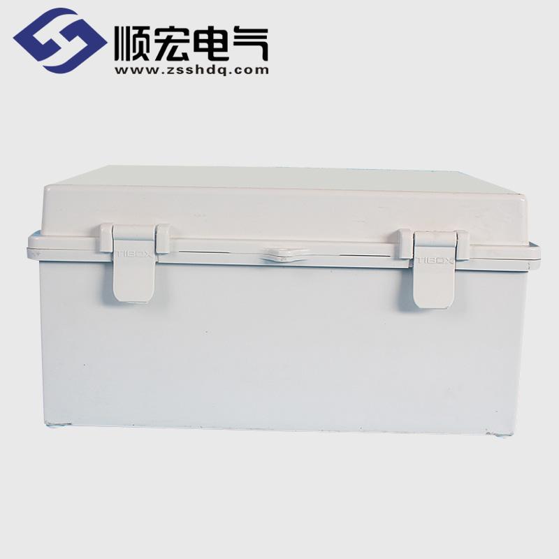 TE-AG-2530 塑料搭扣铰链型防水接线盒 250*300*150