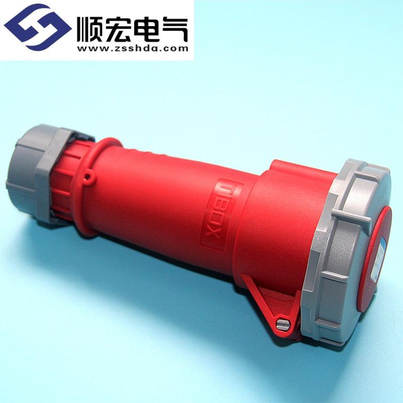 IP67 32A 4芯 防水防尘冷藏专用工业插头插座连接器