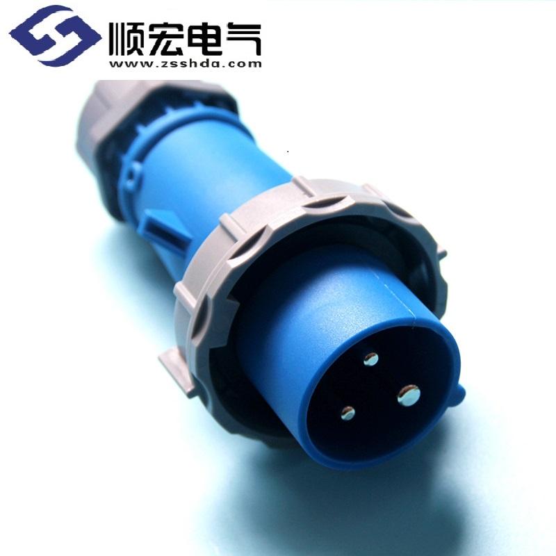 IP67 16A 3芯 防水防爆航空插头