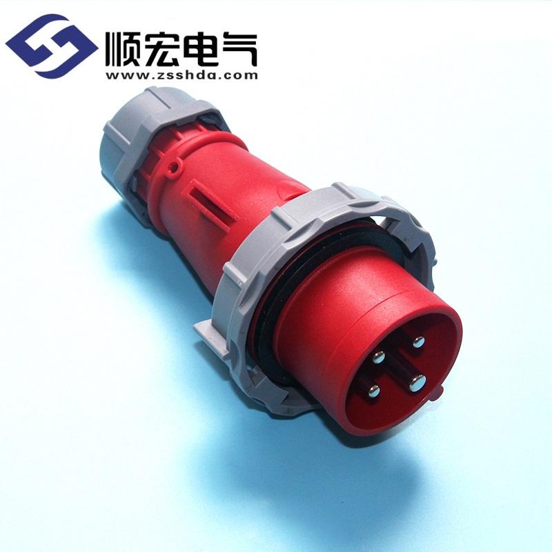 IP67 16A 4芯 防水防爆航空插头